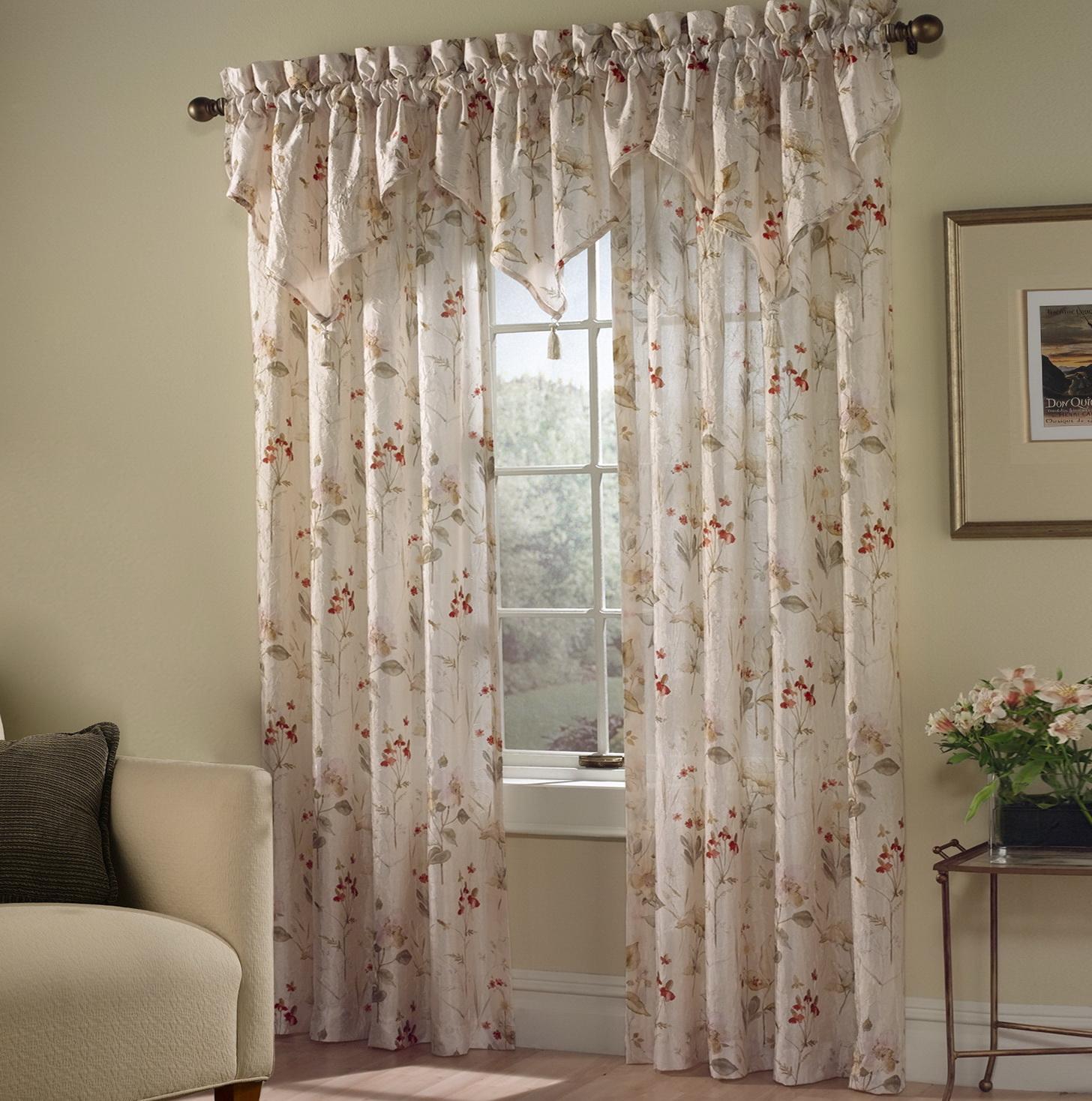 Sheer Swag Curtain Ideas Home Design Ideas