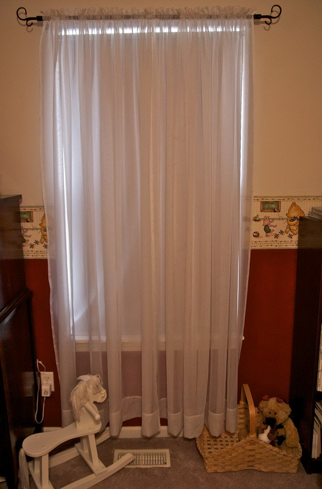 Sheer White Bedroom Curtains Home Design Ideas