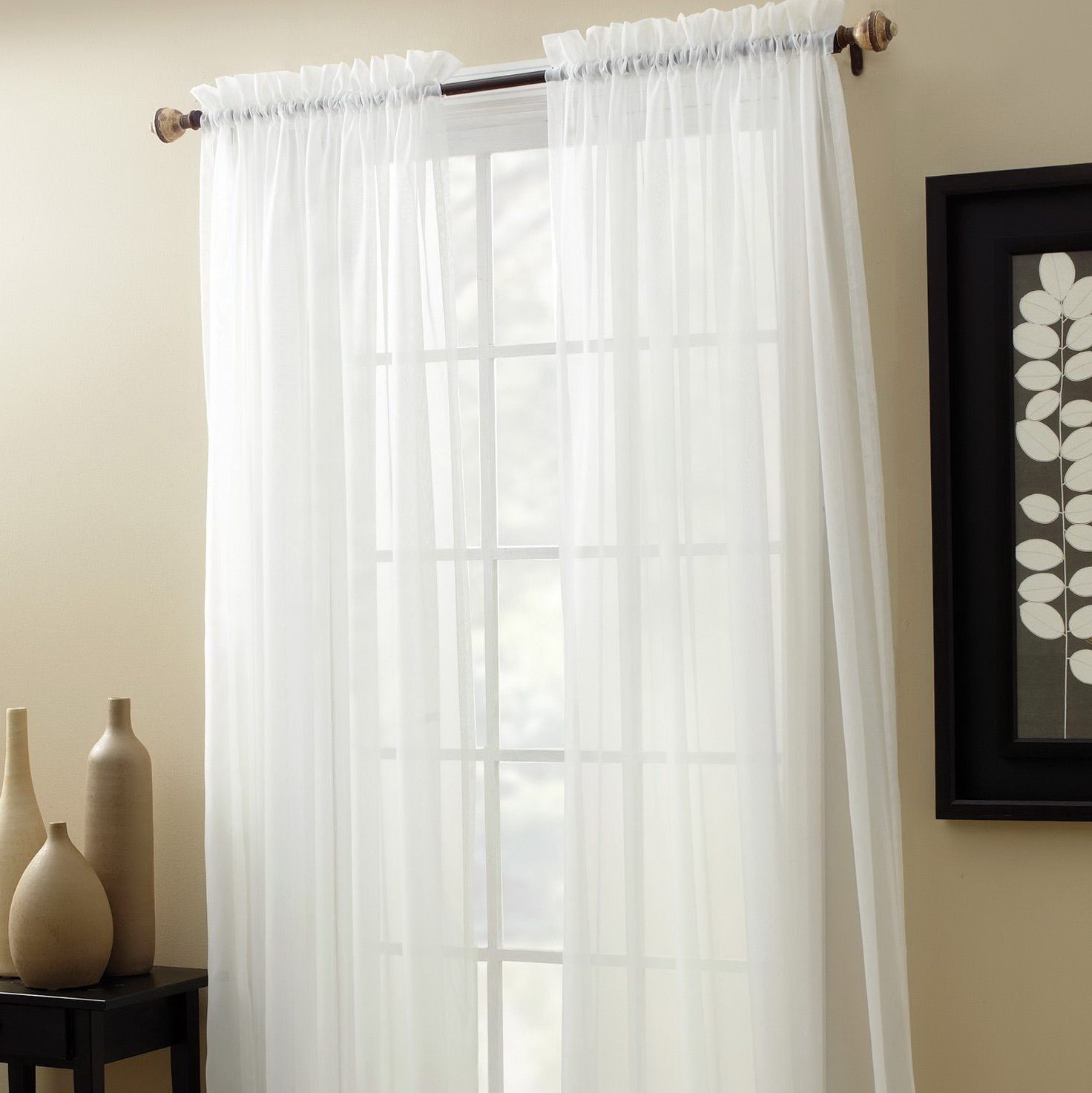 Sheer Window Curtains Clearance