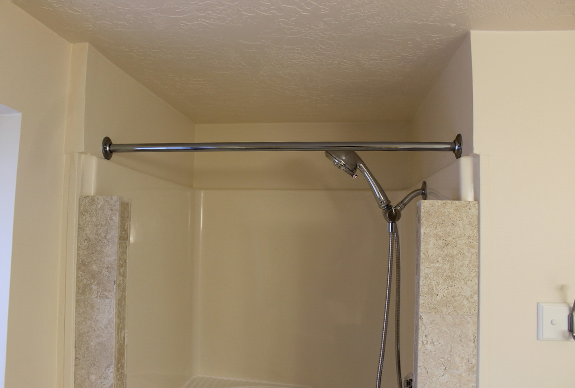 Shower Curtain Rod Installation Home Design Ideas