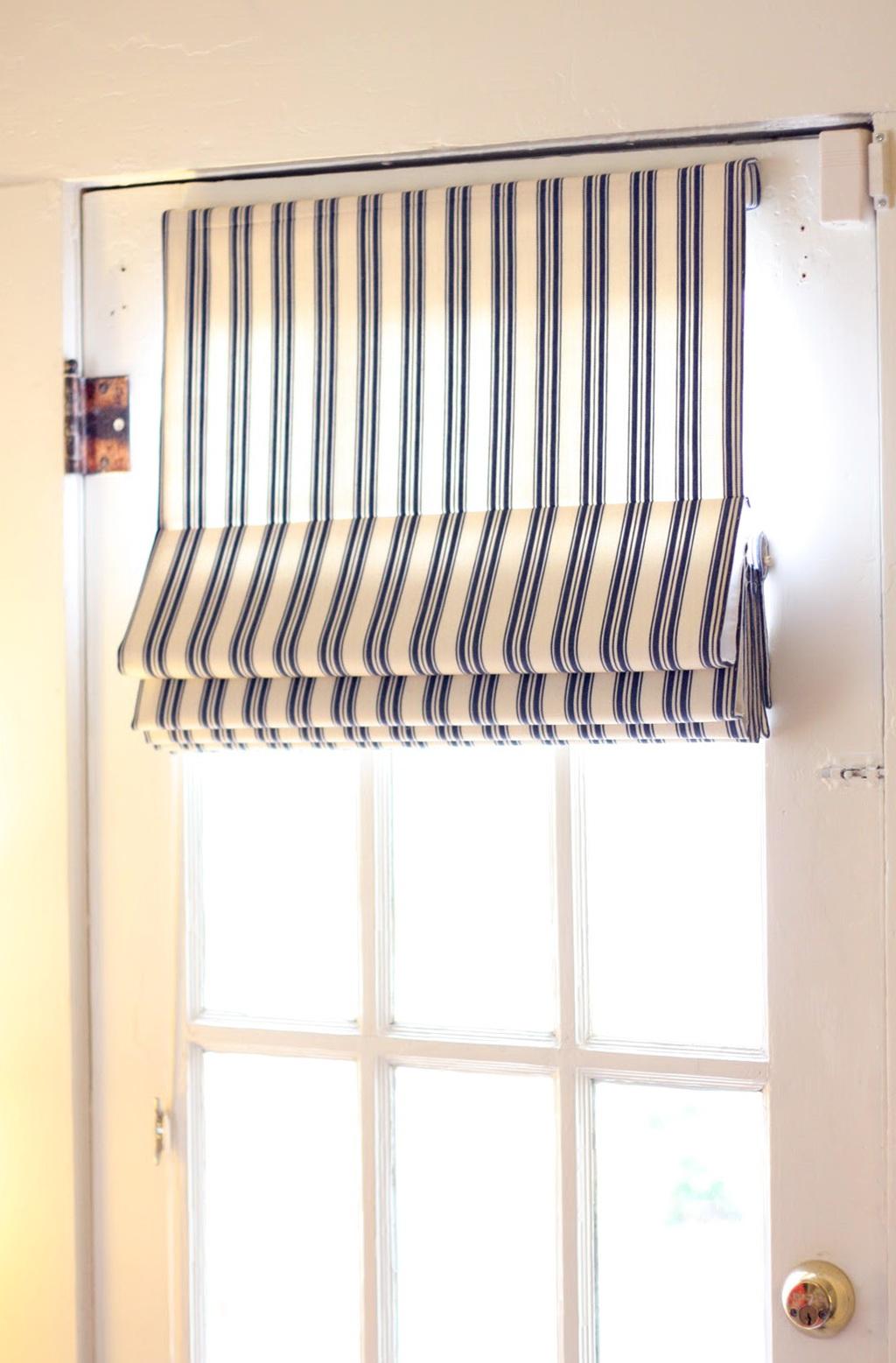 Single French Door Curtain Ideas