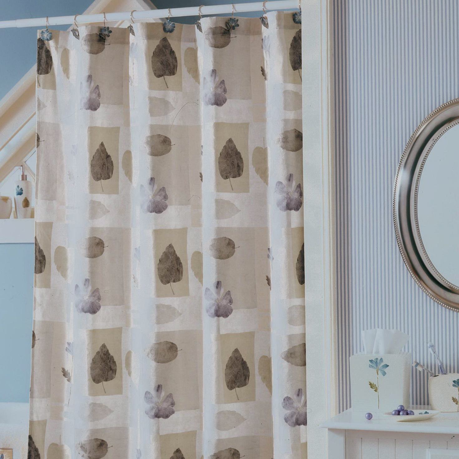 Spa Shower Curtain Ideas