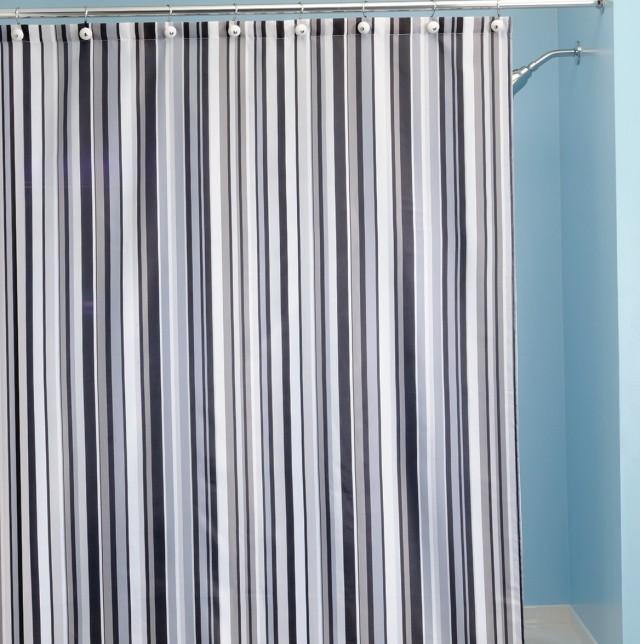 Nautical Striped Shower Curtains Home Design Ideas