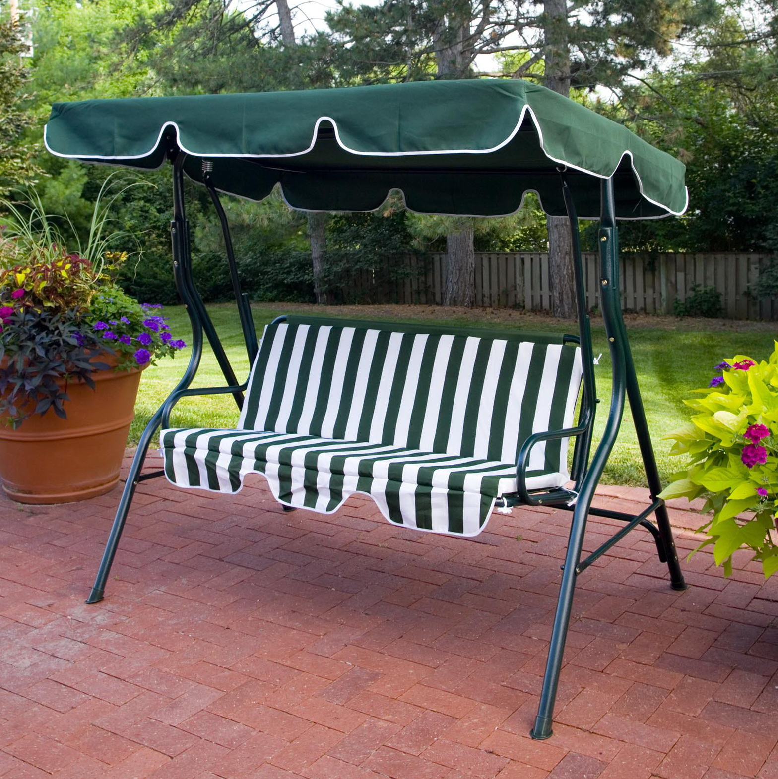 Swing Replacement Cushions & Canopy | Home Design Ideas