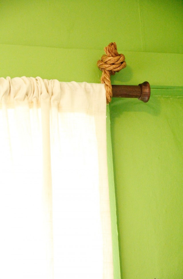 Rustic Curtain Rods Wood Home Design Ideas