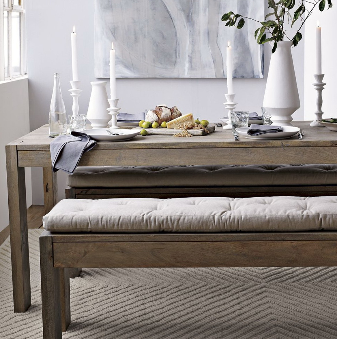 Tufted Dining Bench Cushion Home Design Ideas