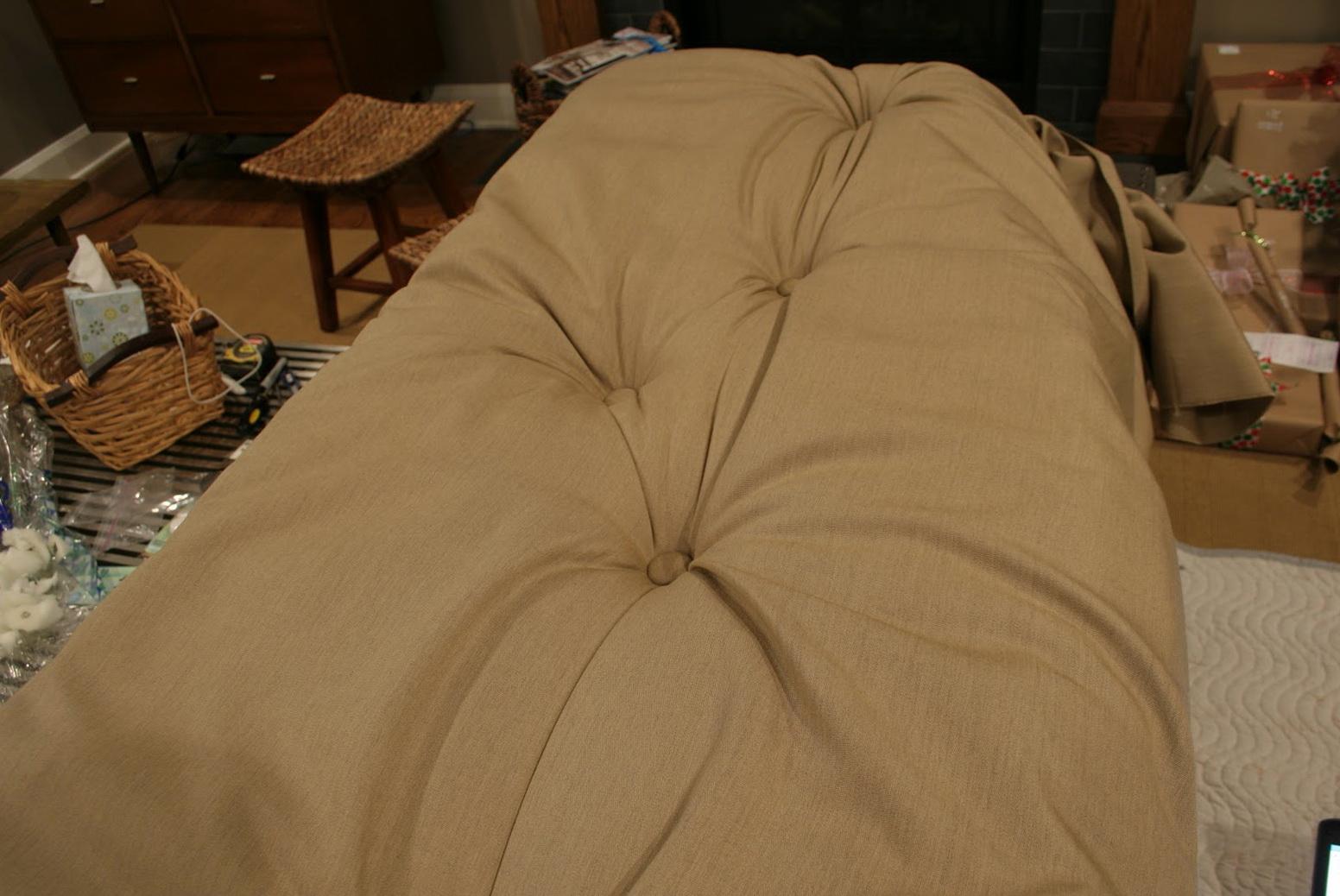 Tufted Floor Cushion Pattern