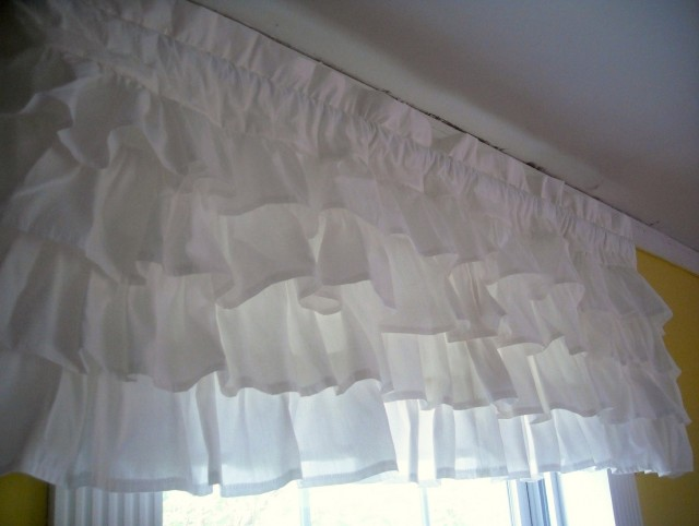 White Valance Curtains Target