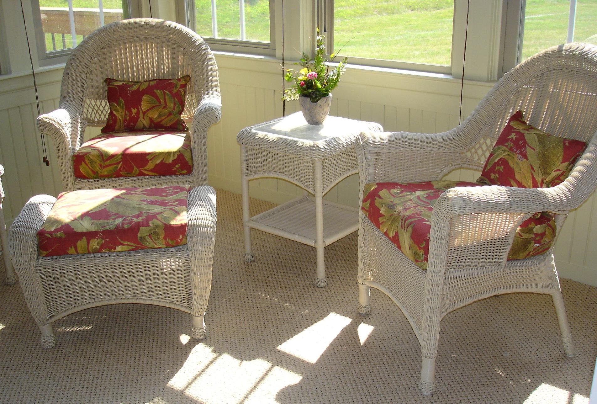 Wicker Chair Cushion Covers