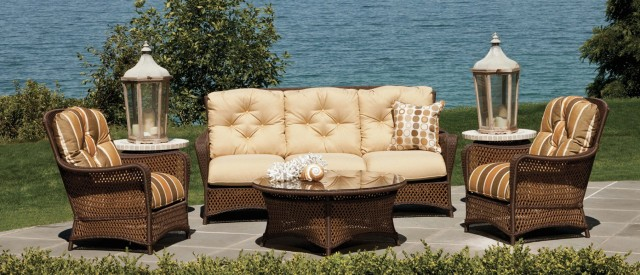 Wicker Furniture Replacement Cushions Lloyd Flanders