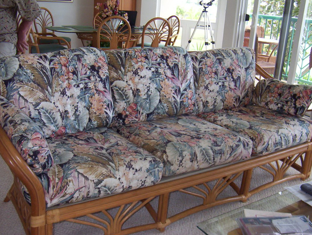 replacement patio furniture resin image loveseat cushions wicker outdoor of