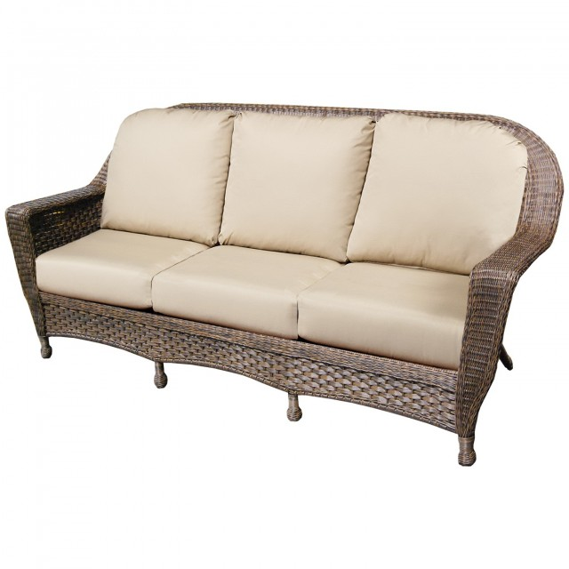Wicker Loveseat Cushions Replacement