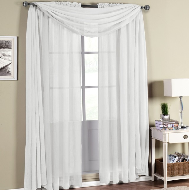 Wide Pocket Curtain Rod Brackets
