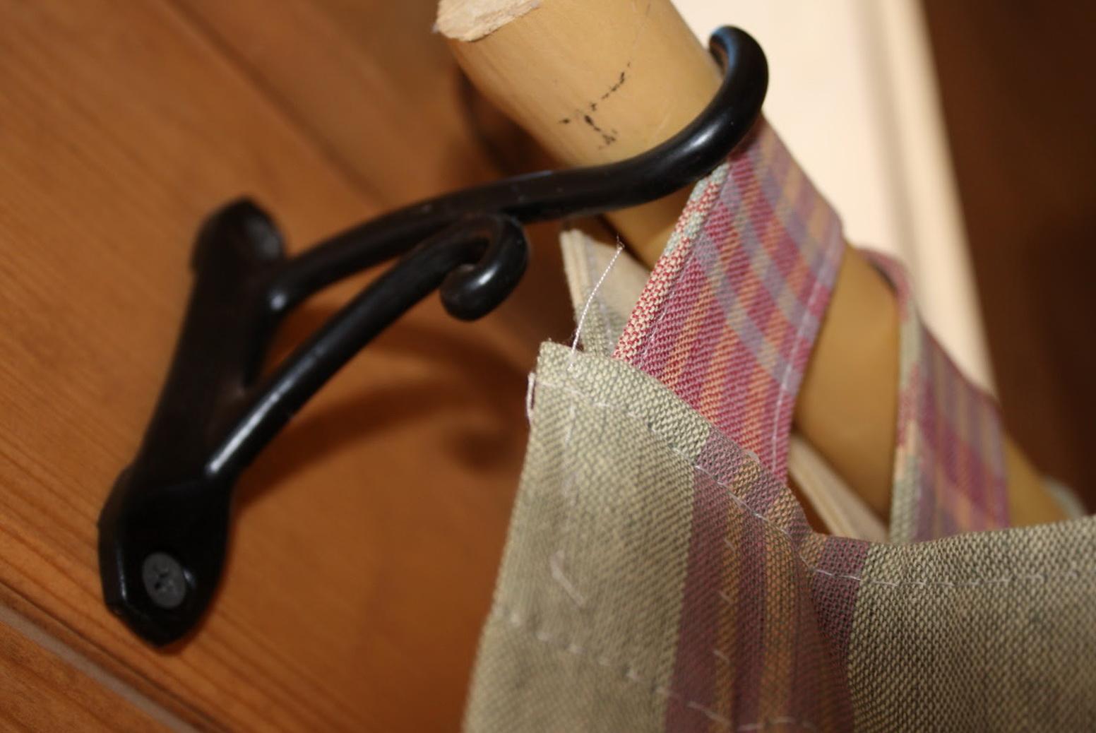 Wooden Curtain Rod Hangers
