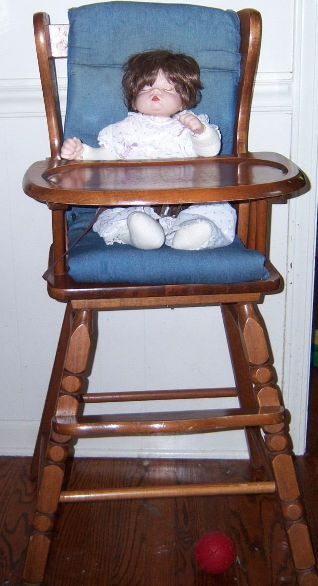 Wooden High Chair Cushion Pad