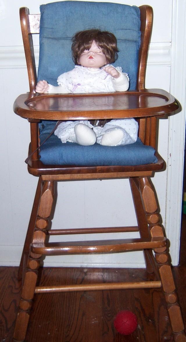 Wooden High Chair Cushion Pad