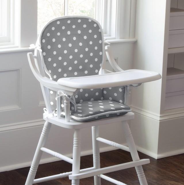 Wooden High Chair Cushion Pattern