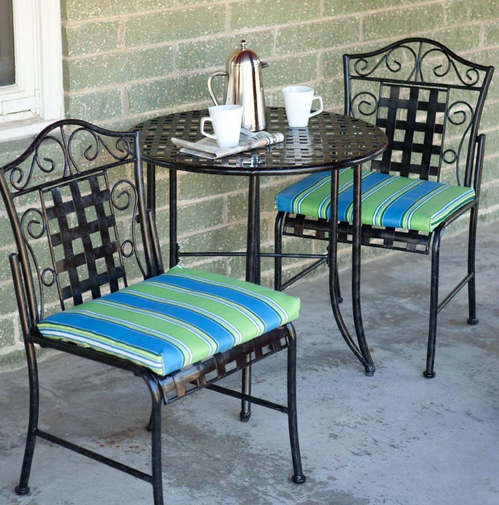 Wrought Iron Chair Cushions Walmart