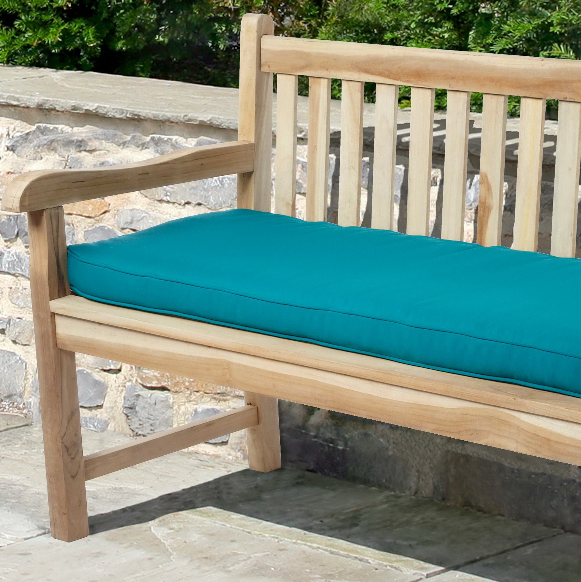 penelope outdoor free yellow product inch home overstock shipping garden bench cushion today