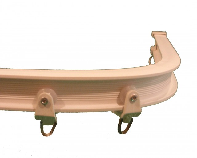 Bendable Curtain Track For Bay Window