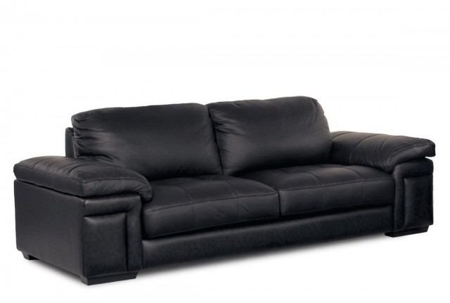Black Leather Sofa Cushions