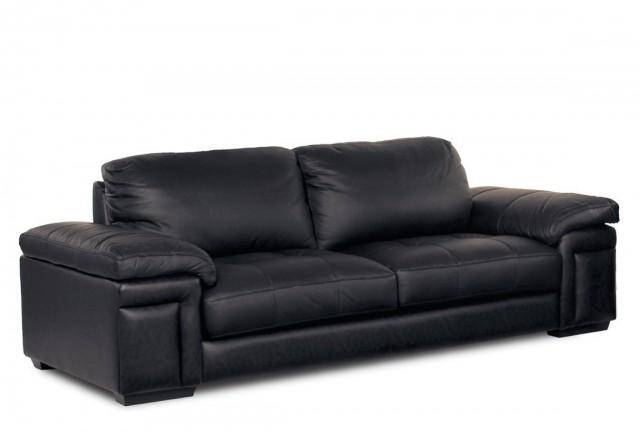 Black Leather Sofa Cushions