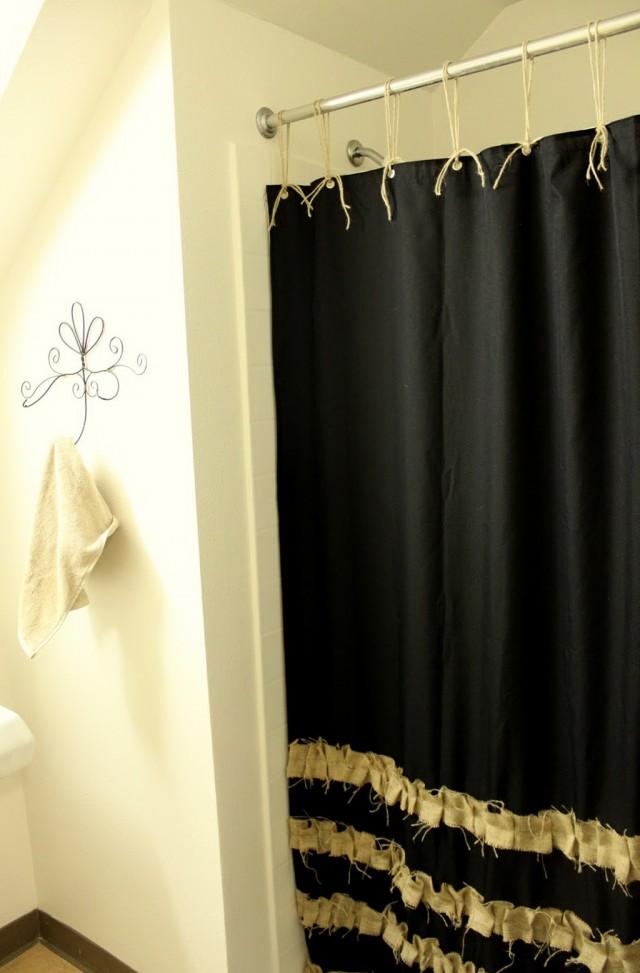 Black Mold On Shower Curtain