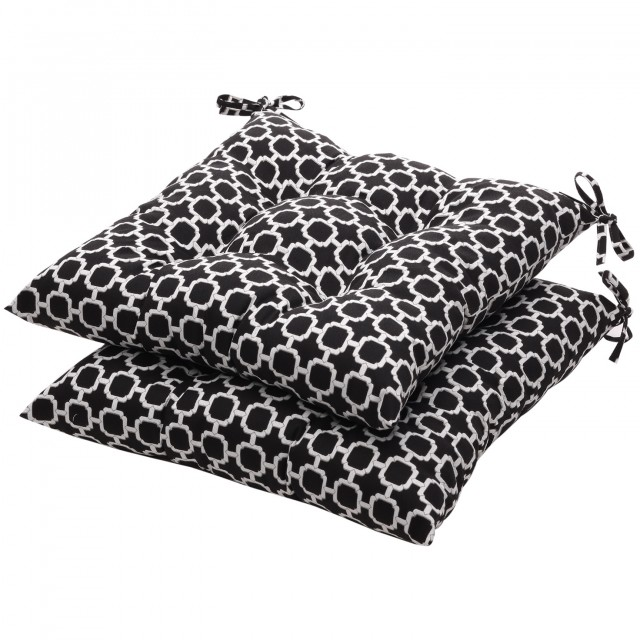 Black Seat Cushions For Chairs