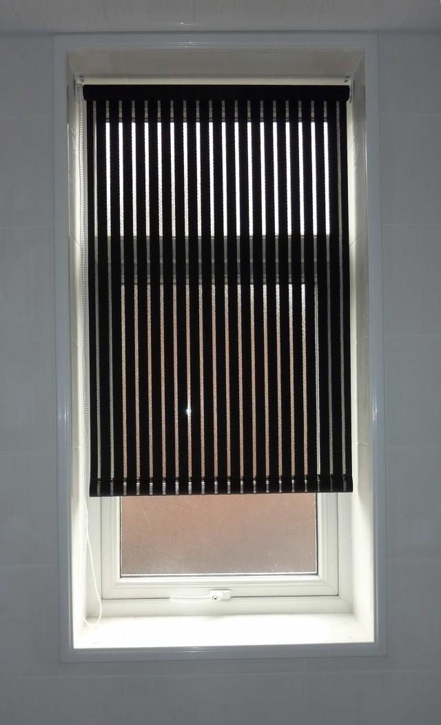 Black See Through Curtains