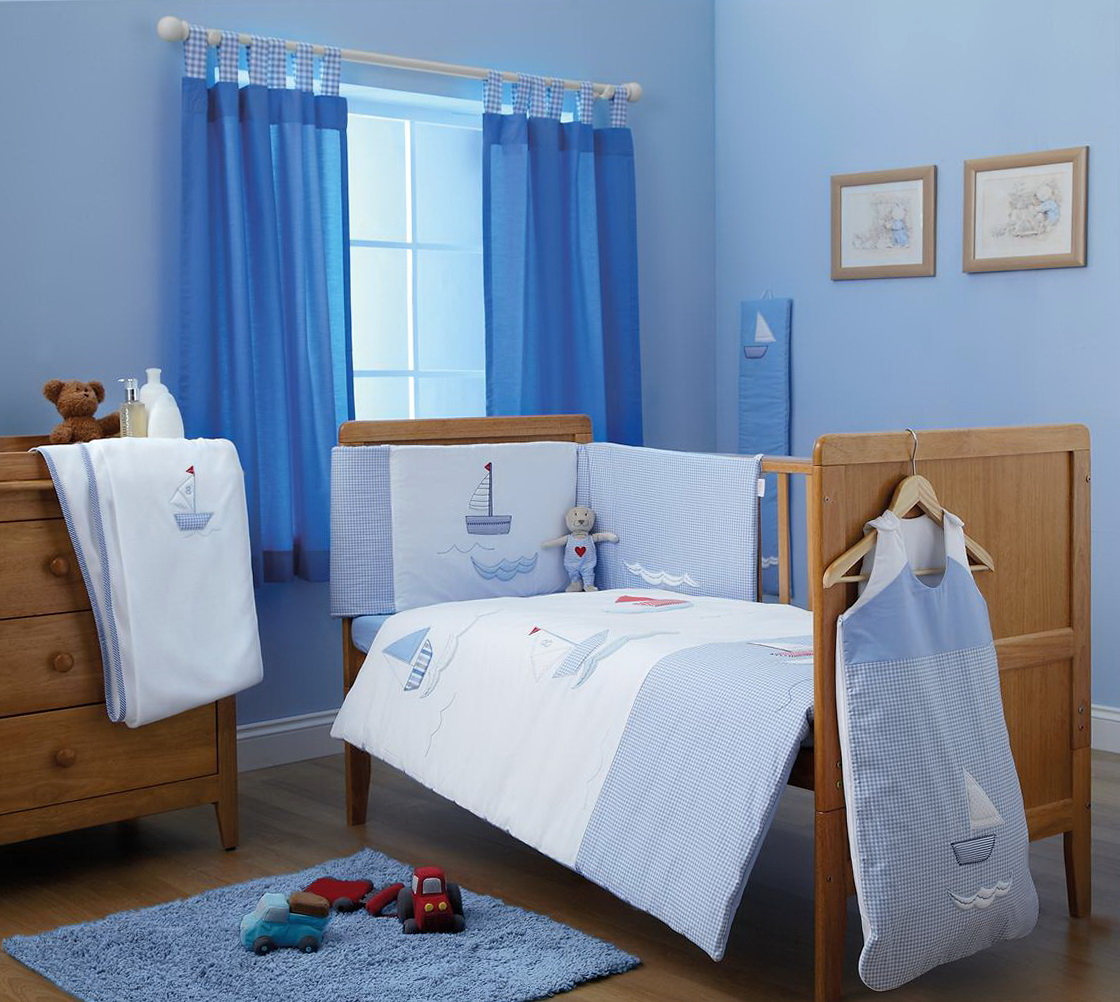 Blue Bedroom Curtains Uk