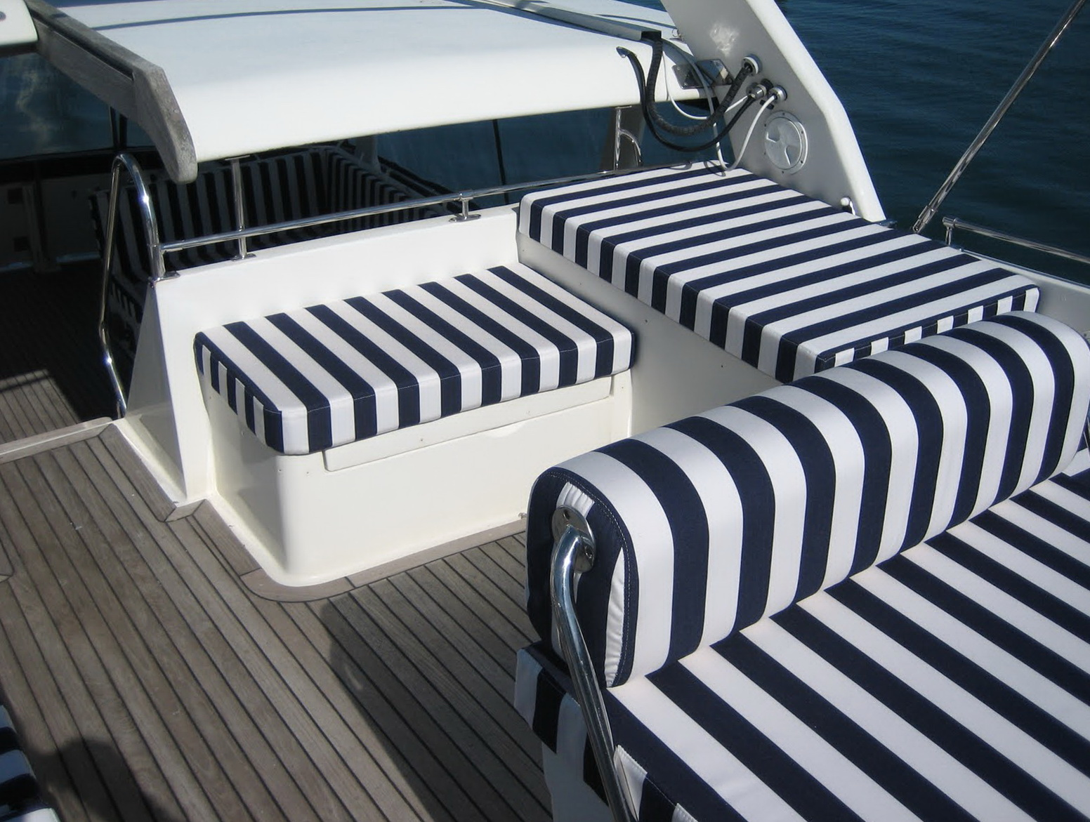 Boat Seat Cushion Repair