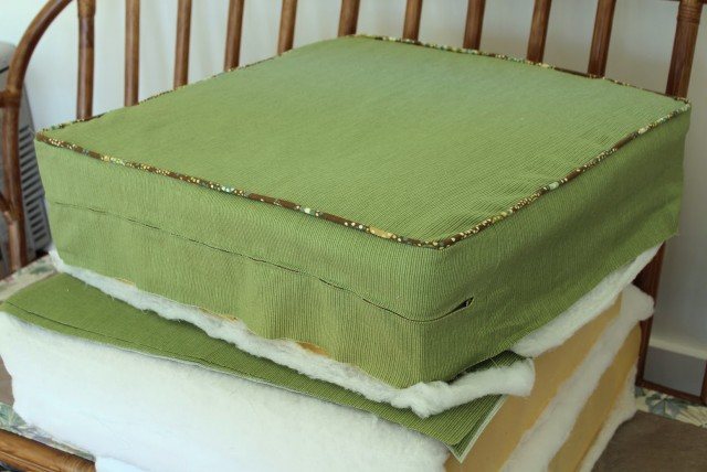 Box Cushion Covers How To Make