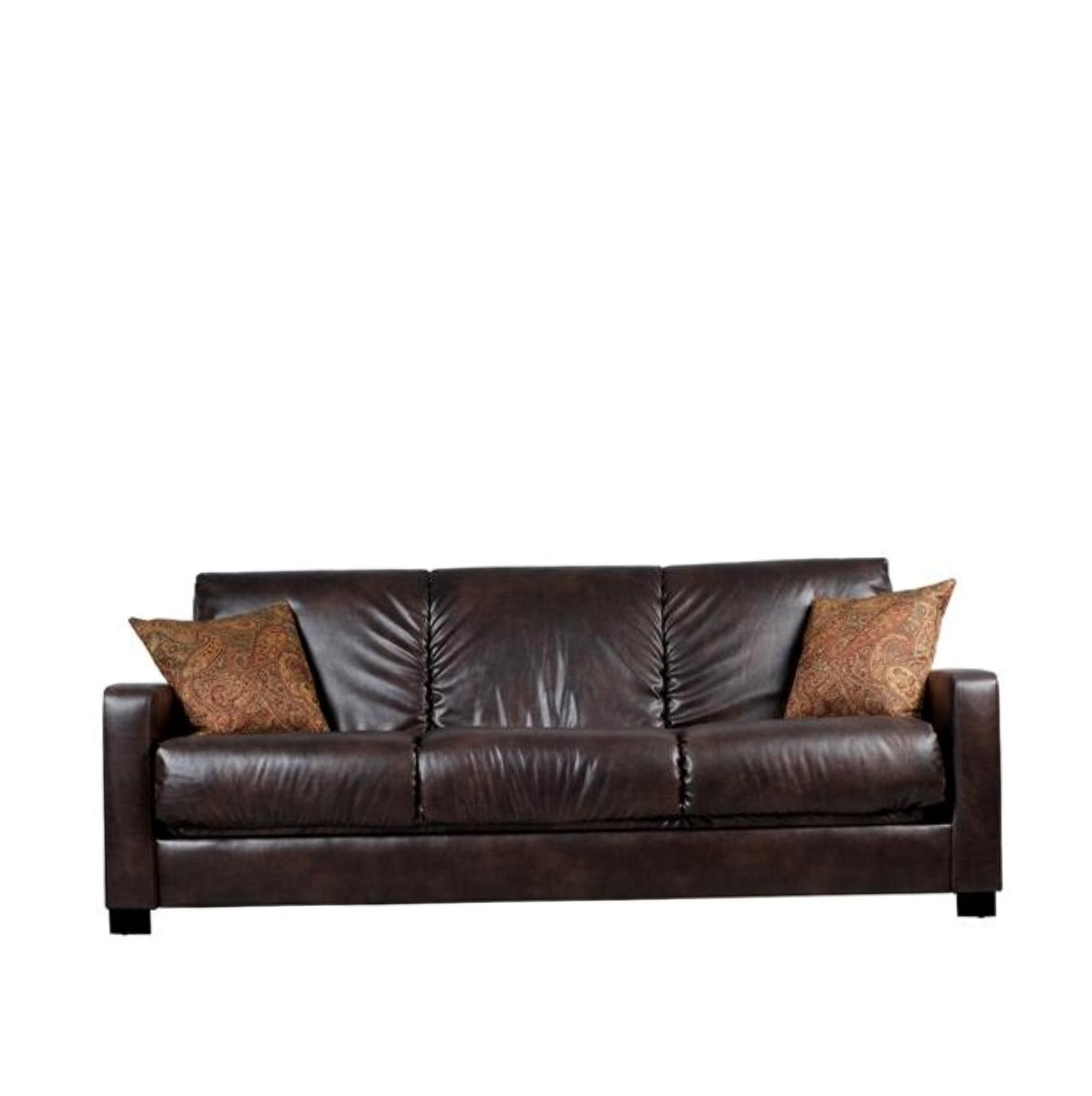 Brown Leather Sofa Cushions Home Design Ideas