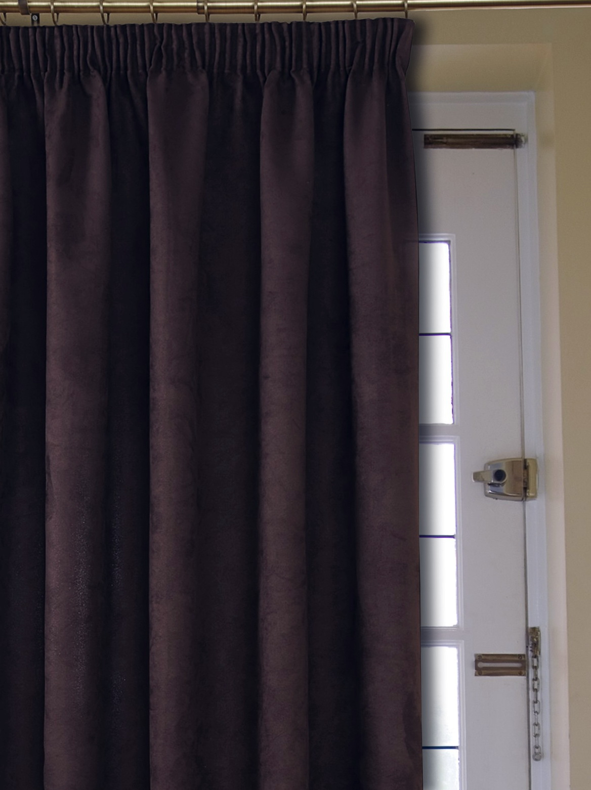 Brown Velvet Curtains Uk