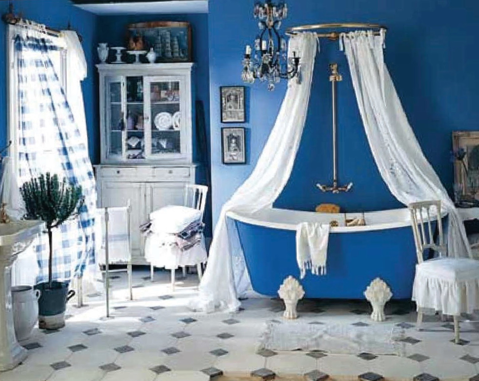 Claw Tub Shower Curtain Ideas