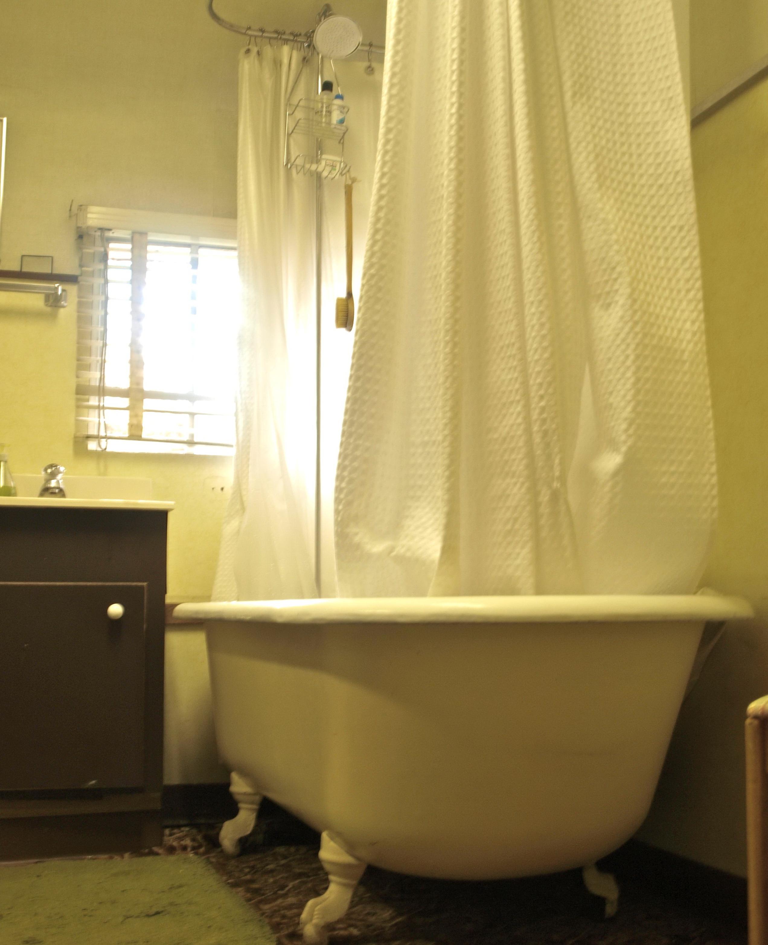 Clawfoot Tub Shower Curtain