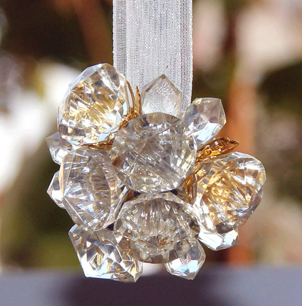 Crystal Holdbacks For Curtains
