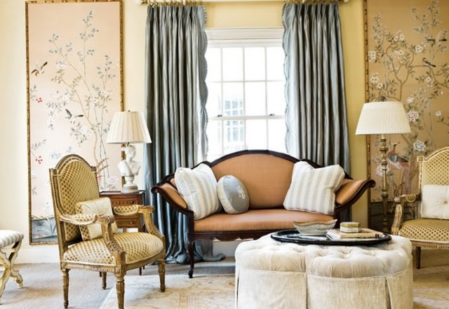 Curtain Decorating Ideas For Living Rooms
