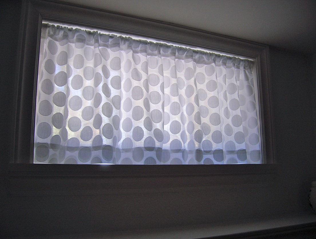 Curtain Ideas For Small Basement Windows