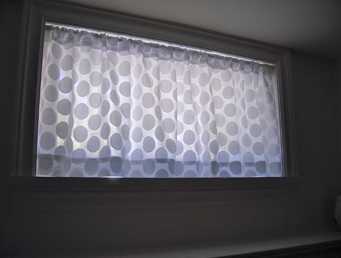 Curtain Ideas For Small Basement Windows