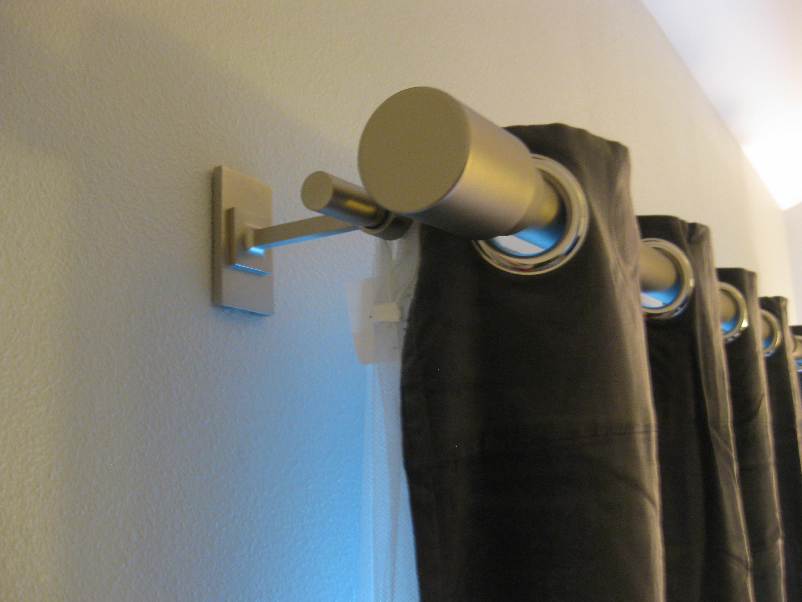 Curtain Rod Finial Ideas