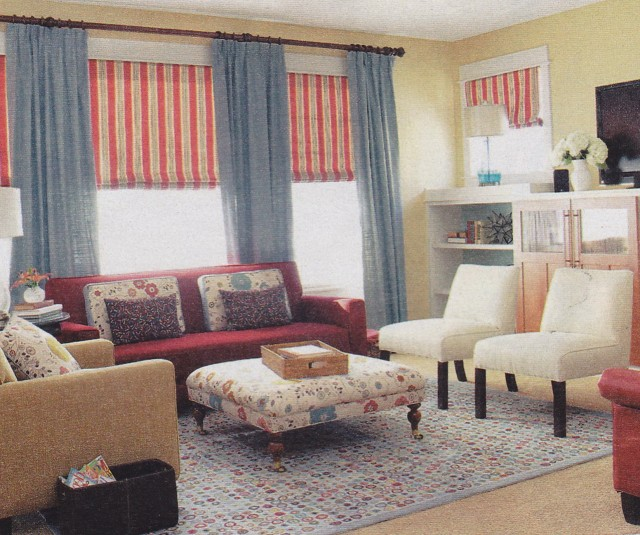 Curtain Valance Ideas Living Room