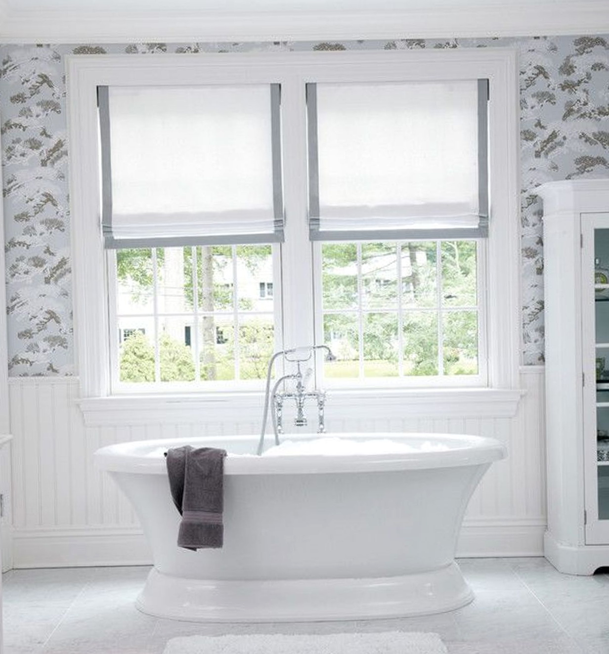 Curtains For Bathroom Window Ideas