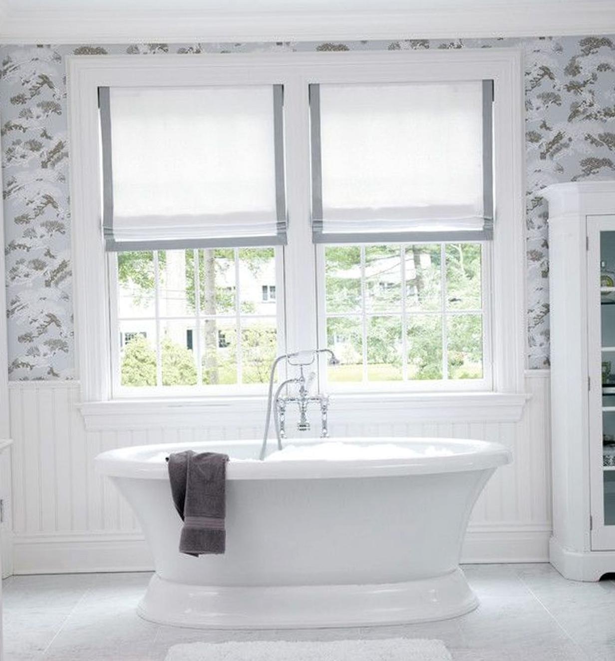 Curtains For Bathroom Window Ideas