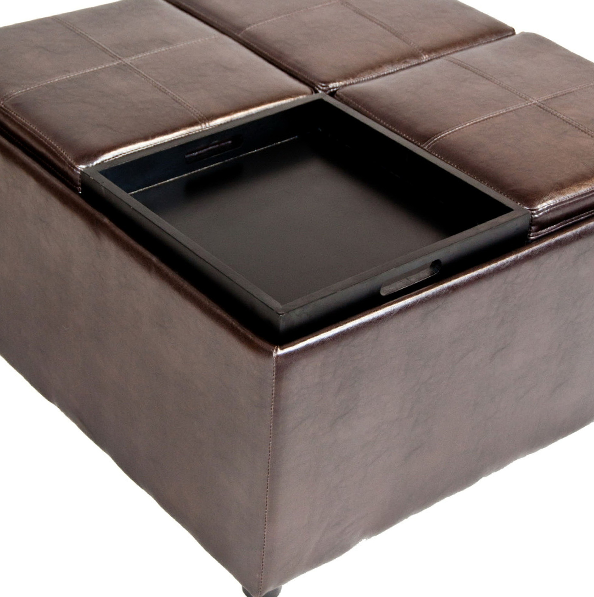 Cushion Coffee Table With Storage