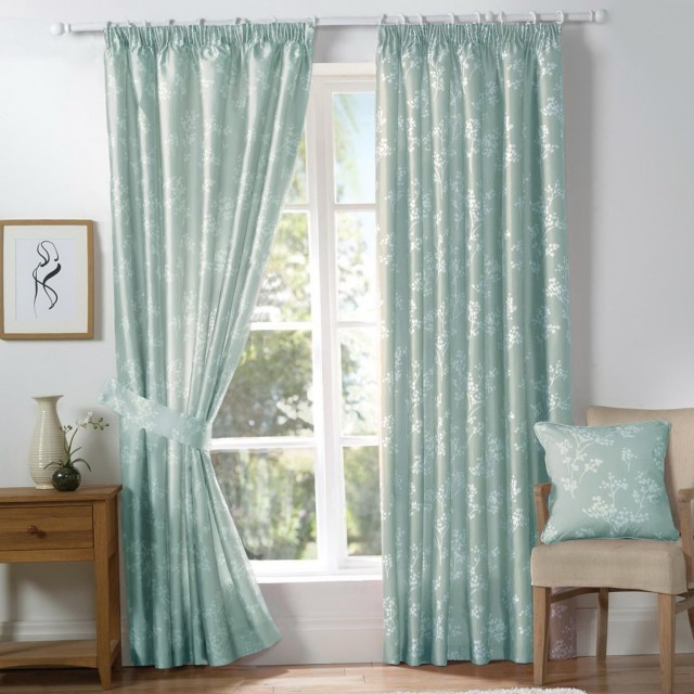 Duck Egg Blue And Brown Curtains Home Design Ideas