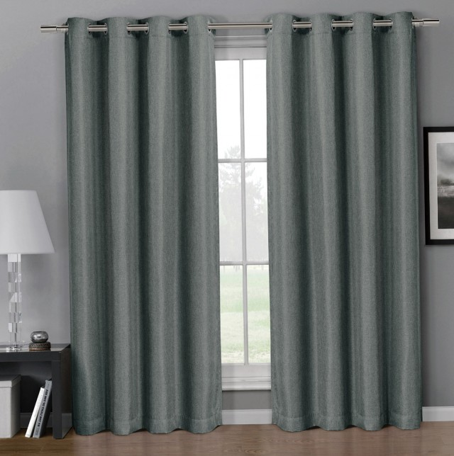 Faux Linen Curtains 96