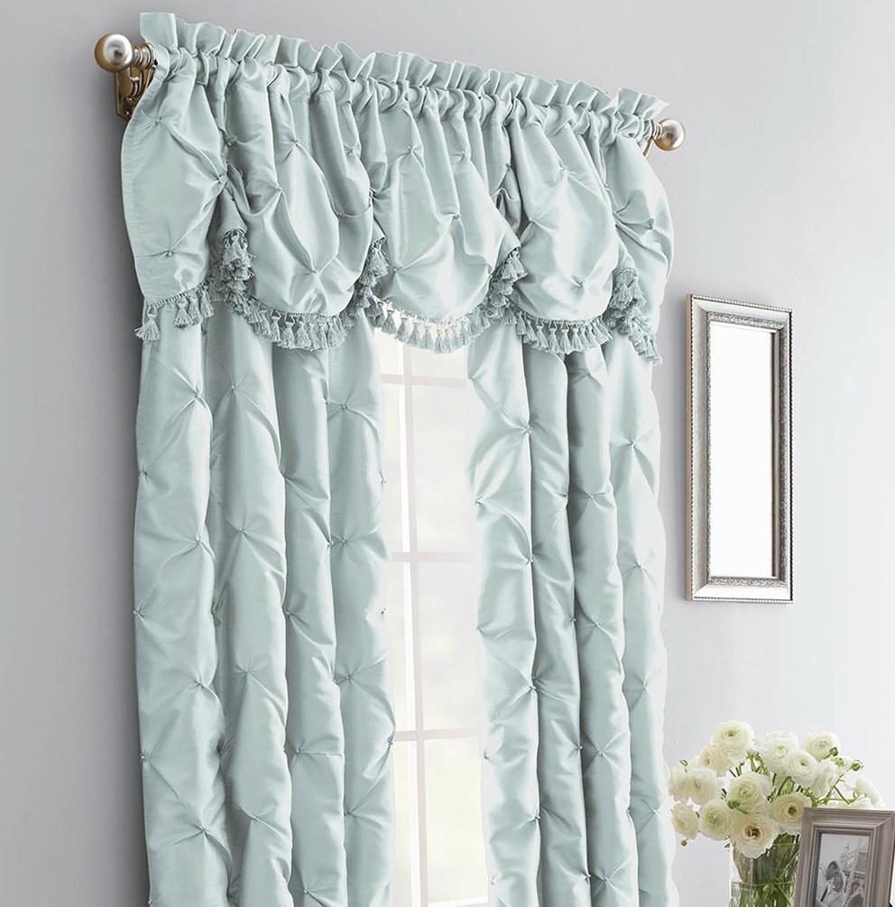 Faux Silk Curtain Panels 108