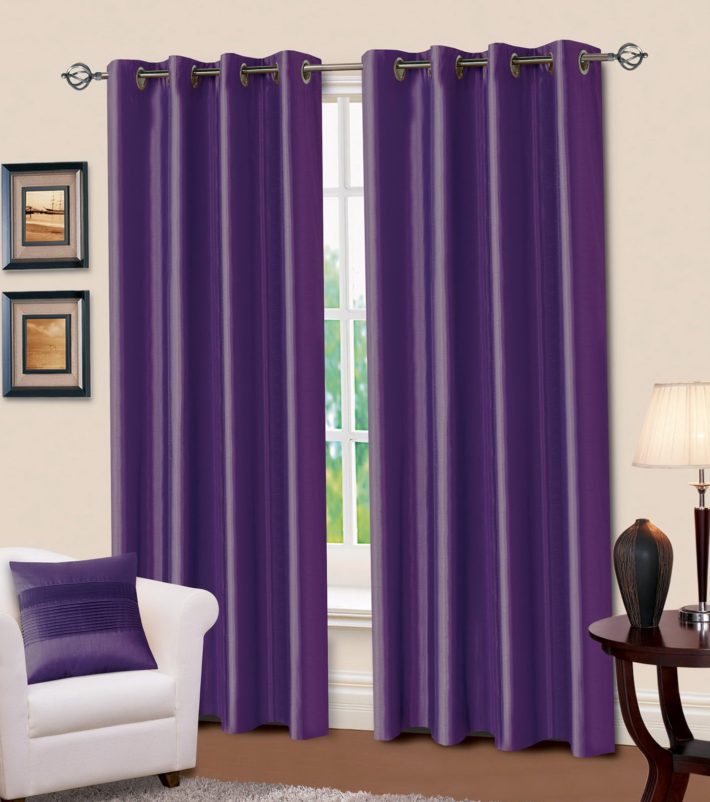 Faux Suede Curtains 90 X 90