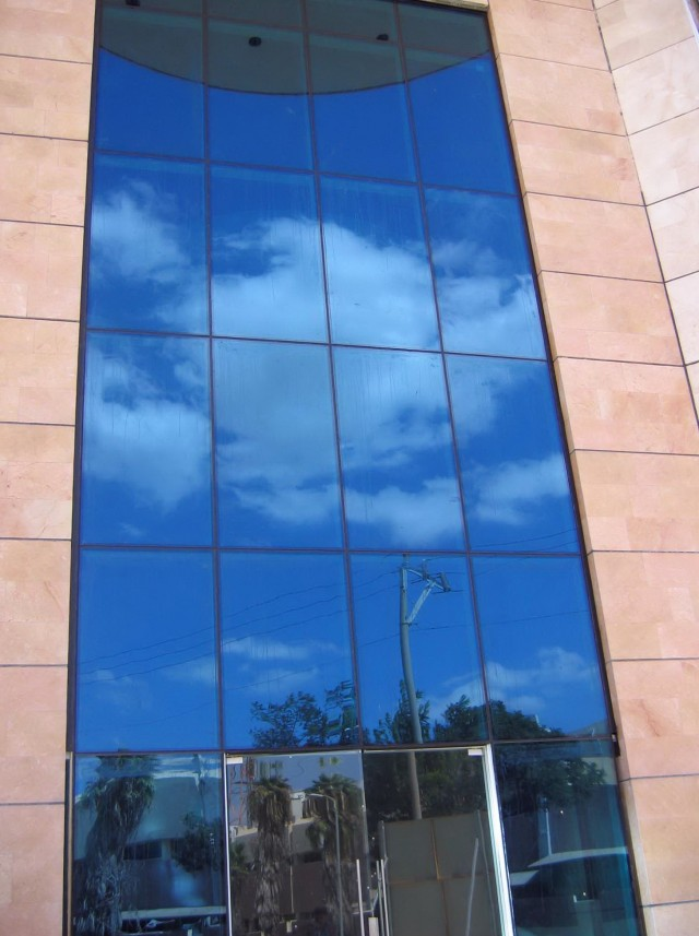 Glass Curtain Wall Section Detail